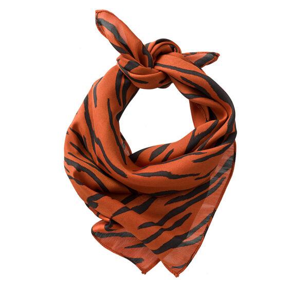 bandana in een zebra print