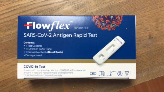 flowflex test RIVM goedgekeurd